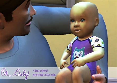 sims 4 cc baby funtioneri my sims 4 blog 7 new outfits for infants by lavieensims