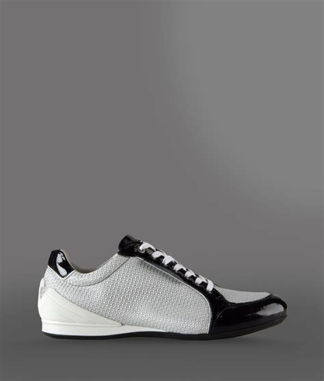 armani sneakers for lyst emporio armani sneakers in white for