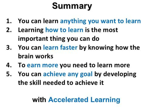accelerated learning 2 0