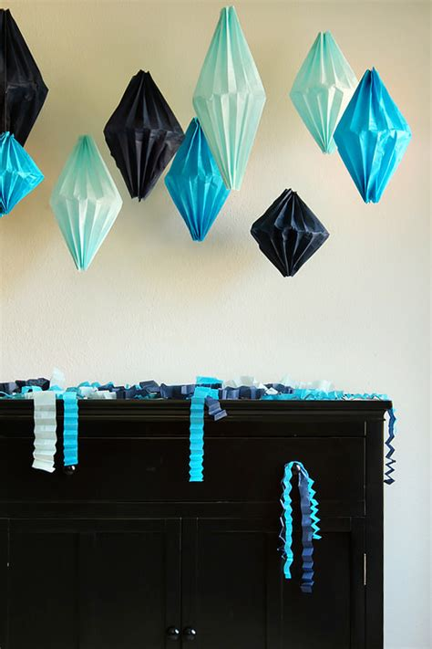 Easy Paper Decorations To Make - 6 easy diy paper decorations paper