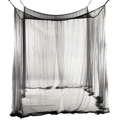 bed net canopy 4 corner bed netting canopy mosquito net for queen ed ebay