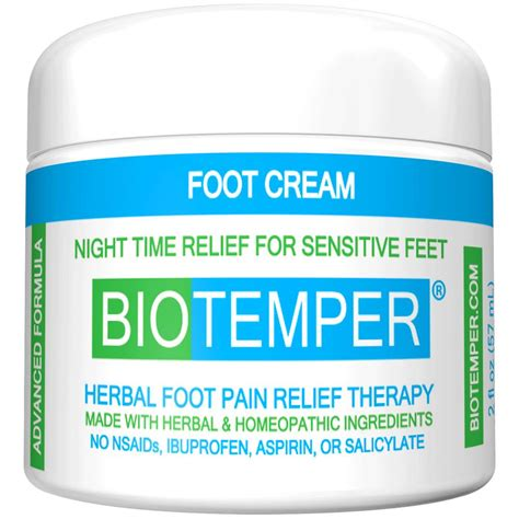 Herbal Relief Creme by Biotemper Herbal Foot Relief Diabetic Relief