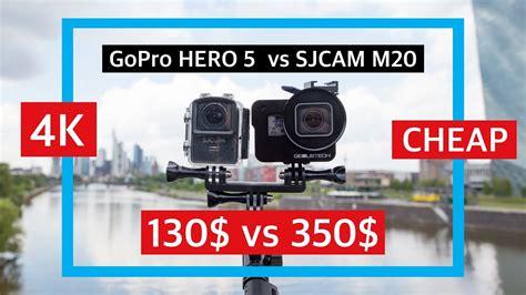 Sjcam Vs Gopro gopro 5 black vs sjcam m20 4k cheap