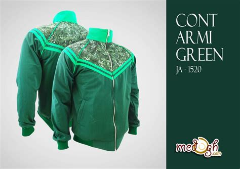 Mau Gaul Mau Sukses Pakai mau bergaya sporty dan gaul pakai jaket batik cont army green