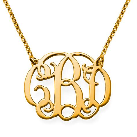 monogram name necklace sterling silver style monogram necklace mynamenecklace au