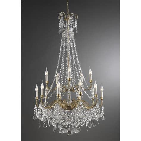 un lustre lustre baroque en forme de panier 224 pilles