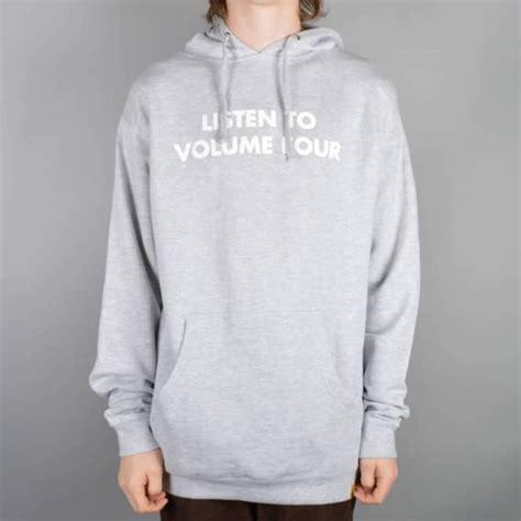 Hoodie Listen Volume Four Xxxv Cloth Vol 4 Volume 4 Listen Hoodie Grey Skate