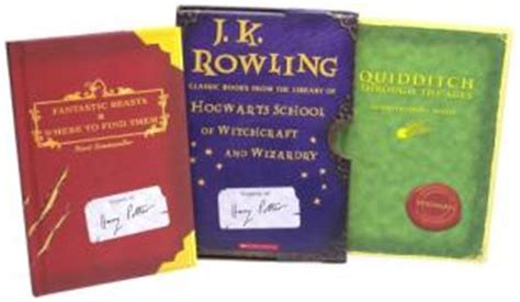 the hogwarts classics box 1408883104 harry potter schoolbooks box set two classic books from the library of hogwarts of