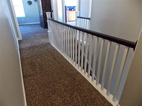 Replace Banister Spindles remodelaholic stair banister renovation using existing newel post and handrail