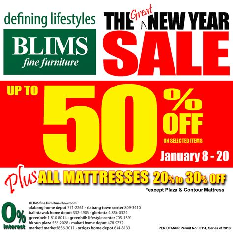new year furniture sale blims furniture the great new year sale january 2013