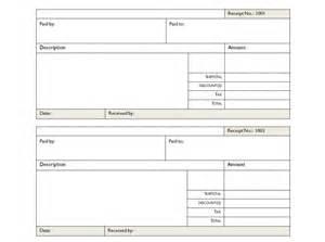 Free Receipt Template Excel Blank Receipt Template Receipt Template Blank