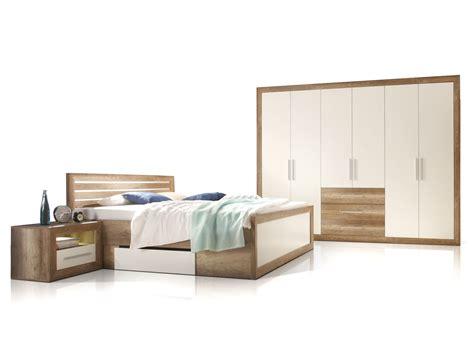 schlafzimmer komplett reduziert nando komplett schlafzimmer oak weiss