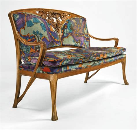 art nouveau couch 494 best art nouveau furniture furnishings images on