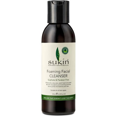 Sukin Foaming Cleanser sukin foaming cleanser cap 125ml free delivery