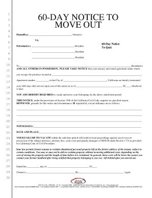 Apartment Association Notice Ideas 3 Day Notice To Quit California Pdf Forms And Templates