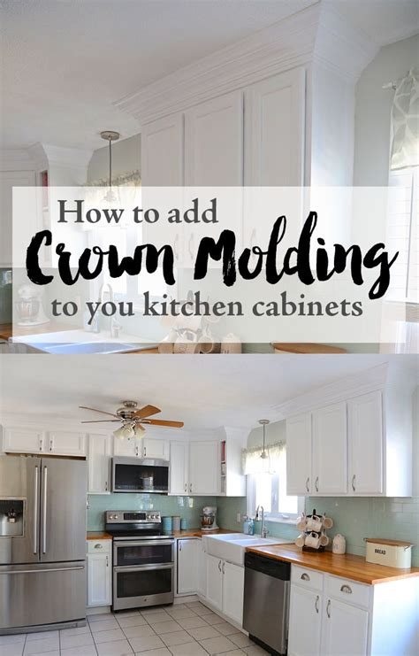 how to add crown molding to kitchen cabinets best 25 crown molding kitchen ideas on pinterest