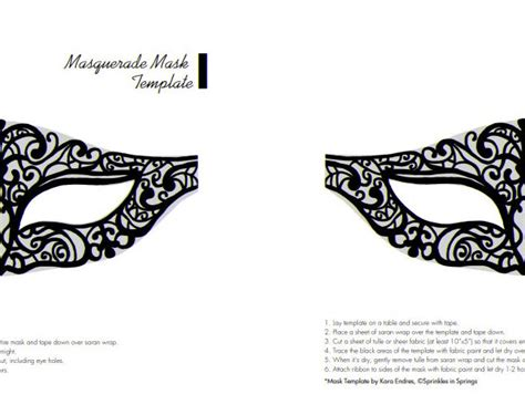 mask template for free printable masquerade mask templates diy