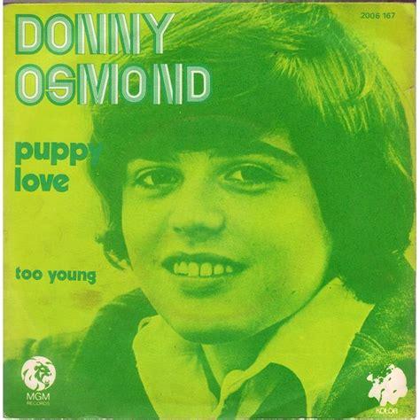 donny osmond puppy puppy by donny osmond sp with jojovynile ref 114104881