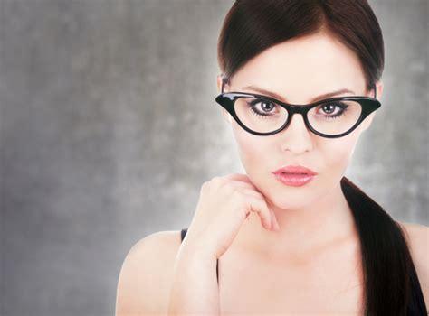 Kacamata Perempuan Fashion trend frame kacamata cat eye untuk wanita dunia bisnis