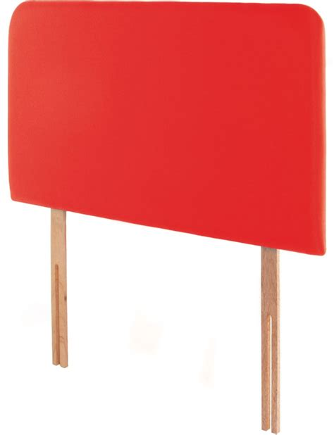 red single headboard swanglen starburst 3ft red headboards