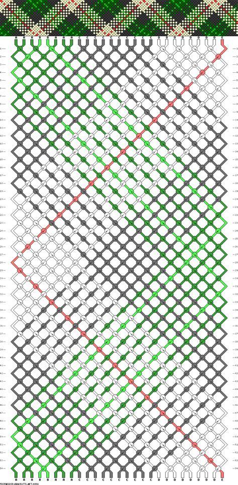 pattern of net 4990 friendship bracelets net