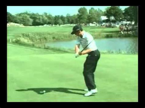 mike weir golf swing canadian mike weir golf swing analysis slow motion youtube