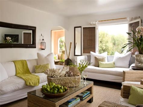 Coastal living room ideas living room and dining room decorating ideas and design hgtv