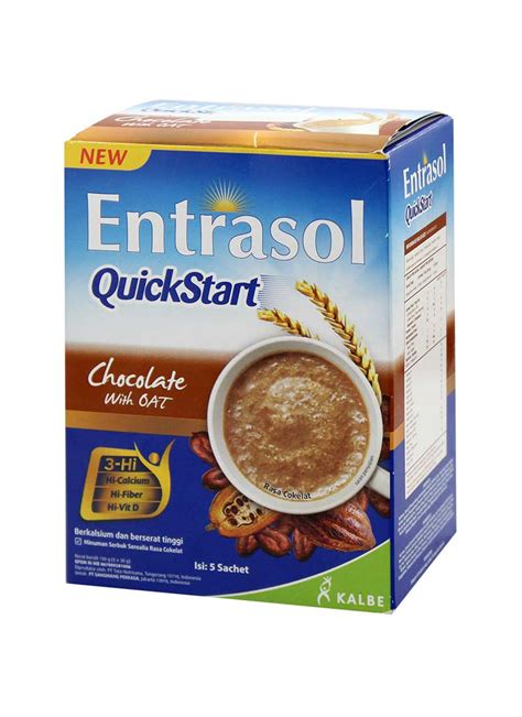 Entrasol Start Entrasol Cereal Start With Oat Chocolate Box 5x30g