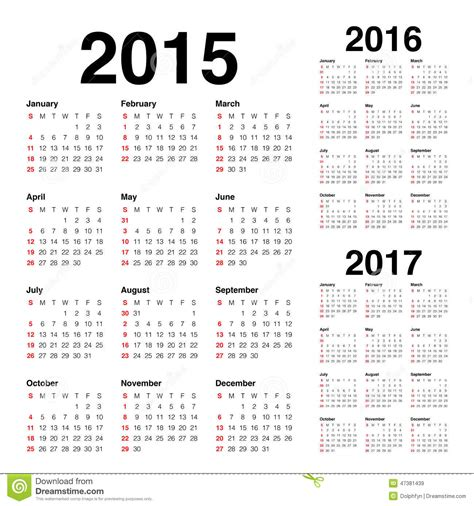 borang be 2015 upcoming 2015 2016 calendrier 2015 2016 2017 illustration de vecteur
