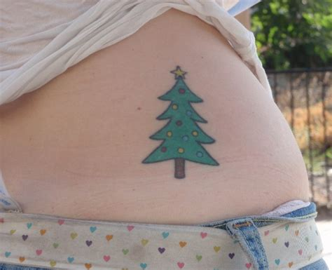 christmas tree tattoo tree tattoos page 5