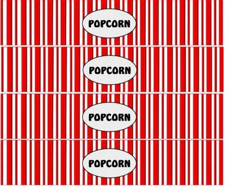 printable popcorn labels free popcorn cupcake templetar diy printable popcorn