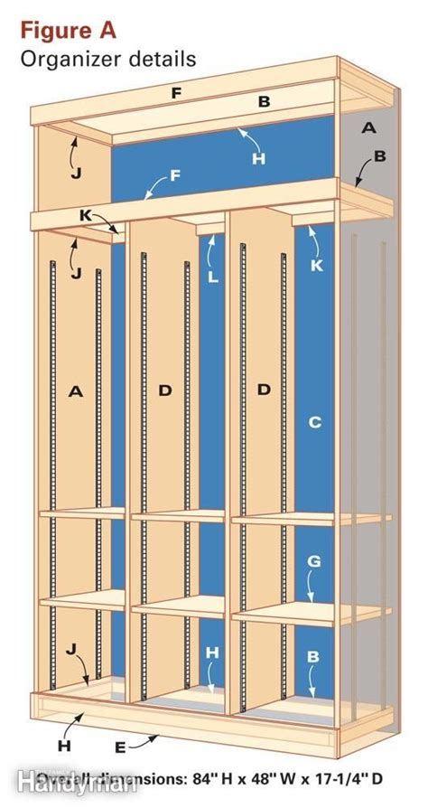 How To Build A Locker Shelf by Entryway Storage And Organizer