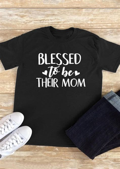 blessed to have mom blessed to be their mom t shirt bellelily