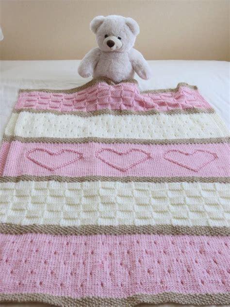 heart pattern knitting baby blanket baby blanket pattern knit baby blanket pattern heart