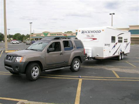 towing  camper   nissan frontier
