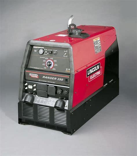 lincoln welder 250 lincoln ranger 250 kohler k1725 10 welder generator