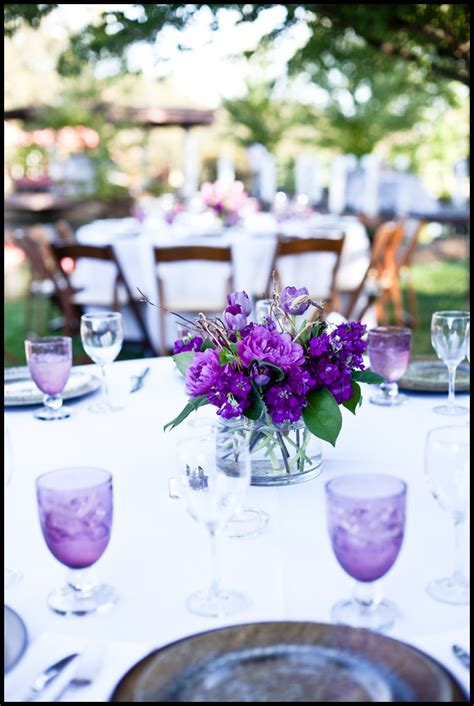 decorating ideas outstanding purple and white wedding