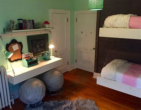 ana white floating bunk beds and desk diy projects ana white floating bunk beds and desk diy projects
