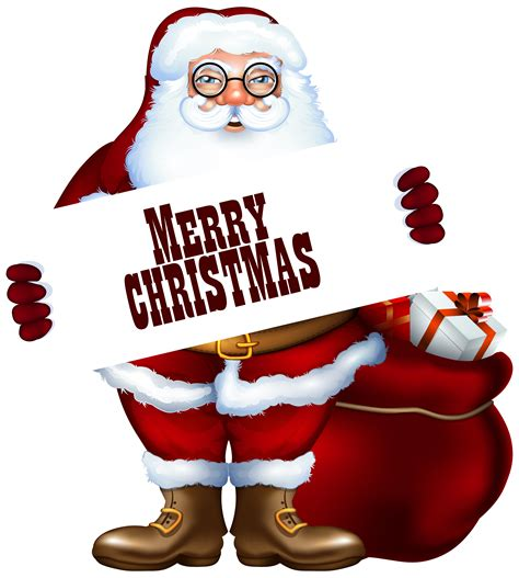 santa claus  merry christmas label png clipart image gallery yopriceville high quality