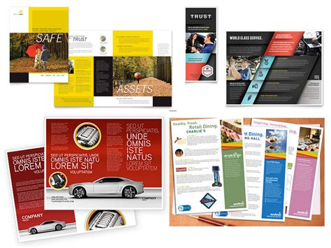 sales brochure templates 100 sales flyer design burick communication design