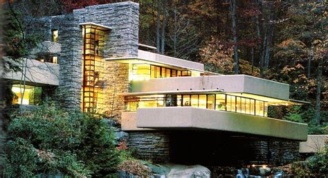 wright casa sulla cascata un concetto organico la casa sulla cascata
