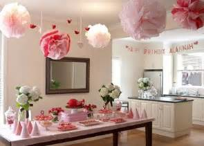 1st Birthday Decoration Ideas At Home by First Birthday Party Ideas For Girls New Party Ideas