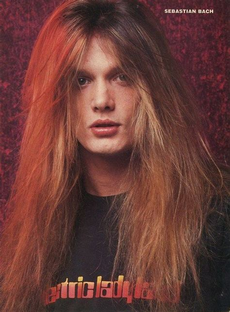 bach hair 385 best images about sebastian bach wow on pinterest