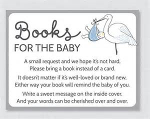 poem for baby shower book instead of card stork baby shower bring a book instead of a card