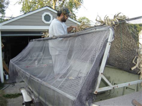 conduit duck boat blind plans nice duck boat blind design goch