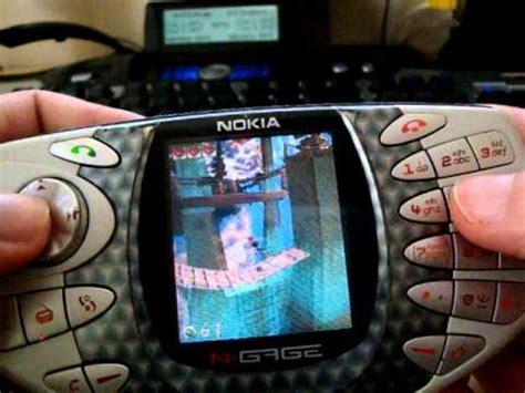 Nokia N Gage Classic nokia n gage classic original taco pandemonium gameplay