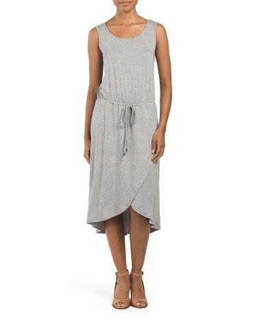 Drawstring Waist Neck Dress neck drawstring waist dress dresses 29 99