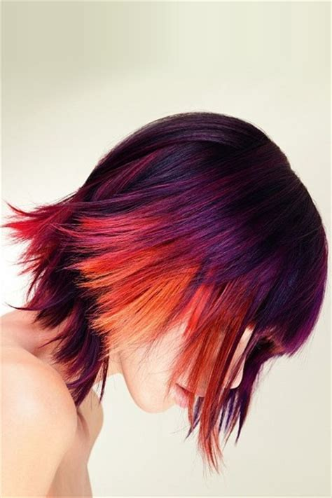 Amazing Multi Colored Highlights The Haircut Web Highlight Your With Multi Toned Flashy Hair Colors Stylz I Highlights