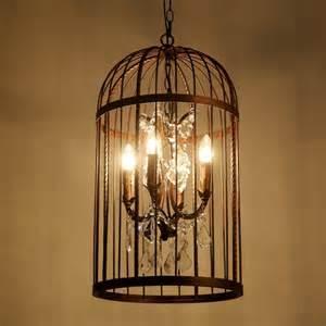 Birdcage Chandelier Light Vintage Birdcage Chandelier Restoration Ceiling