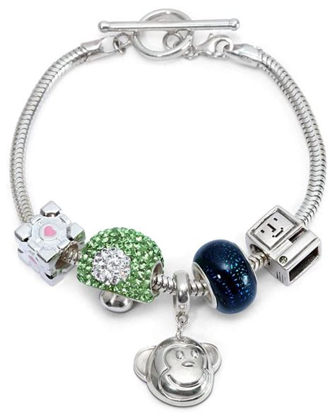 charm bracelet finally a charm bracelet for geeks take that pandora